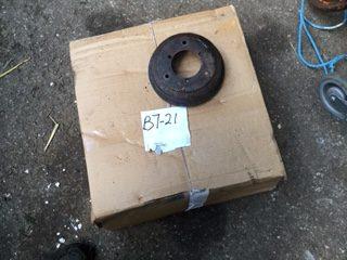 B7-21 big 7 brake drum