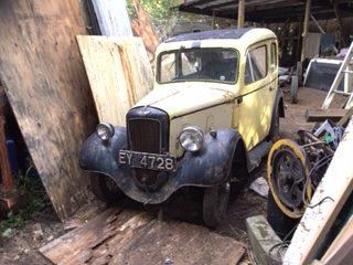 V6 - Mk 2 Ruby saloon for restoration complete car